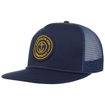 Cpt Fin Fresh Catch Trucker Cap Truckercap Mesh Meshcap Basecap Baseballcap Kappe Flat Brim - Bild 1