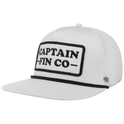 Cpt Fin Patrol Trucker Cap Truckercap Meshcap Mesh Basecap Baseballcap Flat Brim Kappe - Bild 1