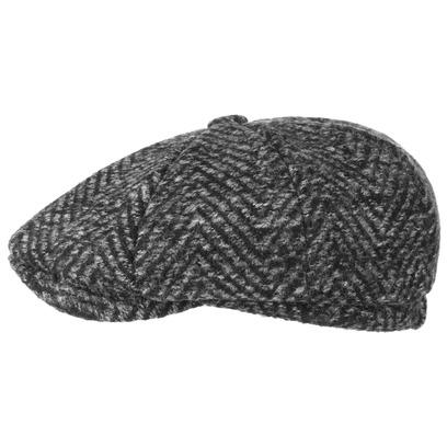 Lipodo Coarse Herringbone Schirmmütze Ballonmütze Flatcap Wollcap Wintercap - Bild 1