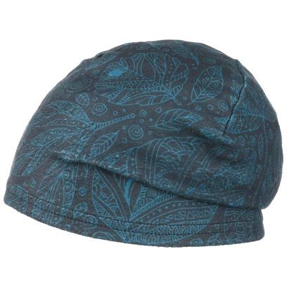 H.A.D. Beanie Printed Fleece Autuno Blue Mütze Sportmütze Outdoormütze Joggingmütze - Bild 1