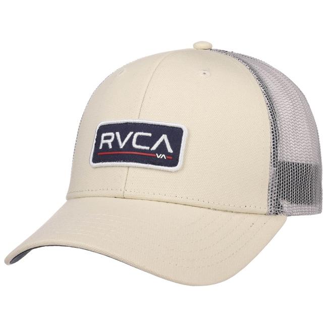 RVCA Ticket Trucker Cap Basecap Baseballcap Mes...