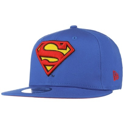 New Era 9Fifty Classics Superman Cap Comic Basecap Baseballcap Snapback Flat Brim Kappe