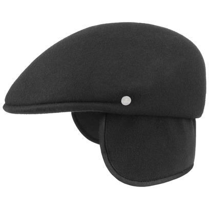 Lierys Outdoor Flatcap mit Ohrenklappen Schiebermütze Schirmmütze Wintercap Wollcap - Bild 1