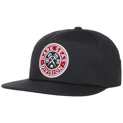 Dark Seas Journeyman Snapback Cap Flat Brim Basecap Baseballcap Kappe - Bild 1
