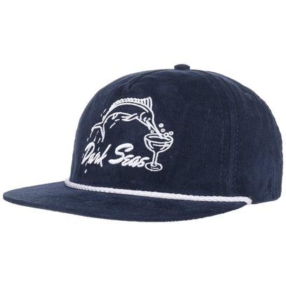 Dark Seas Albany Snapback Cap Flat Brim Basecap Baseballcap Kappe - Bild 1