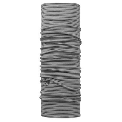 BUFF Multifunktionstuch Grey Stripes Bandana Stirnband Halstuch Schal Rundschal Tuch - Bild 1