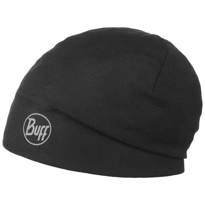 BUFF Solid Black Thermo Beanie Joggingmütze Laufmütze Outdoormütze Mütze - Bild 1