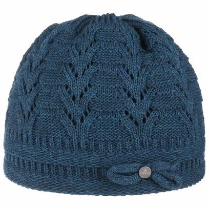 Lierys Classico Strickmütze mit Schleife Wintermütze Mütze Wollmütze Beanie Strickbeanie - Bild 1
