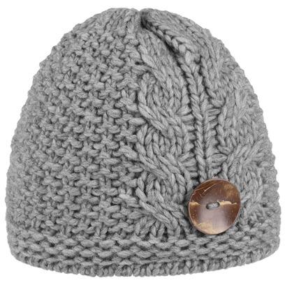 Lierys Jil Strickmütze mit Knopf Wintermütze Mütze Damenmütze Beanie - Bild 1
