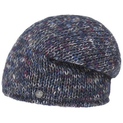 Lierys Multicolour Mohair Long Beanie Strickmütze Mütze Wintermütze Wollmütze - Bild 1