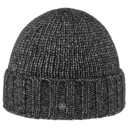 Lierys Miro Merino Umschlagmütze Beanie Strickmütze Wollmütze Wintermütze Mütze - Bild 1