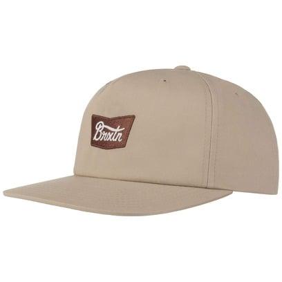 Brixton Stith Snapback Cap Basecap Baseballcap Kappe Flat Brim Flatbrim Käppi - Bild 1