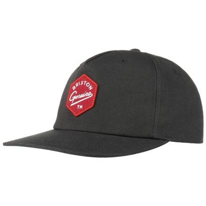 Brixton Yates Snapback Cap Basecap Baseballcap Flat Brim Kappe - Bild 1