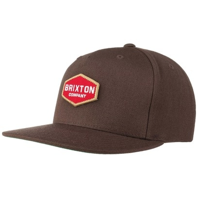Brixton Obtuse Snapback Cap Flat Brim Basecap Baseballcap Kappe - Bild 1
