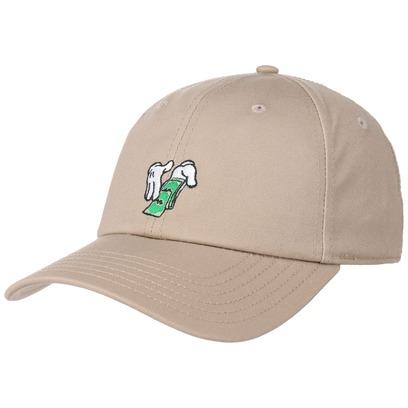Cayler & Sons Make It Rain Curved Cap Basecap Baseballcap Dad Hat Kappe Curved Brim Strapback - Bild 1