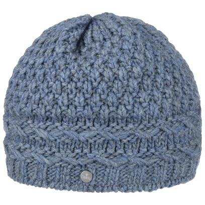 Lierys Pinea Beanie mit Futter Wollmütze Wintermütze Strickmütze Fleecefutter Mütze - Bild 1