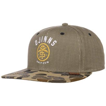 Djinns Camo Brim Snapback Cap Flat Brim Basecap Flatbrim Baseballcap Kappe - Bild 1
