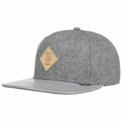 Djinns Flannel Snapback Cap Flatbrim Flat Brim Basecap Baseballcap Kappe - Bild 1