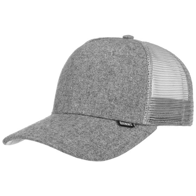 Djinns Flannel Trucker Cap Truckercap Meshcap M...