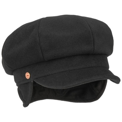 Mayser Camilla Ballonmütze mit Ohrenklappen Earflaps Wollcap Wintermütze Damenmütze Mütze - Bild 1