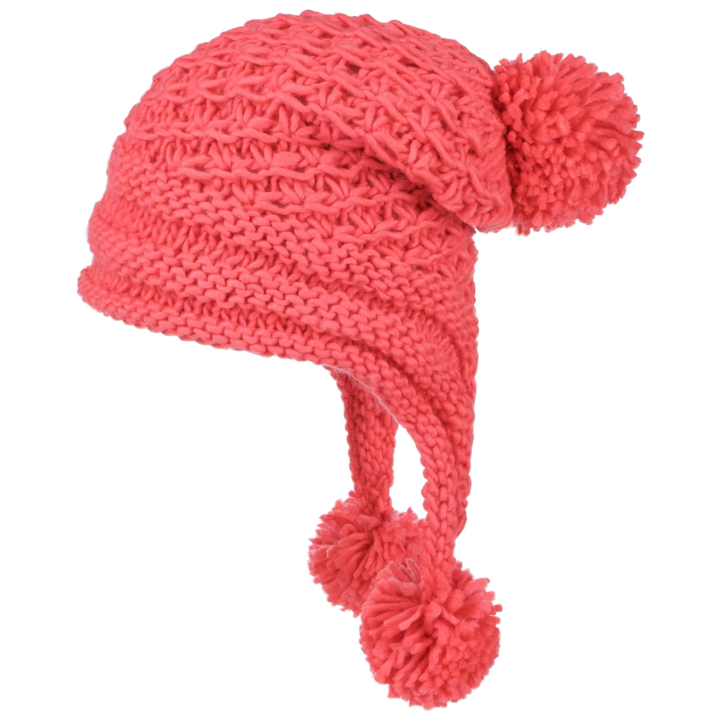 Inca Headband Knitting Pattern : Inca Pompom Hat by Lipodo, GBP 18,95 --> Hats, caps & beanies shop onl...
