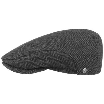 Bugatti Wool Herringbone Flatcap Schirmmütze Wollcap Schiebermütze Wintercap Mütze Cap