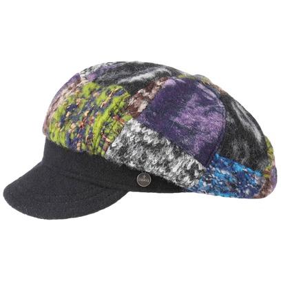 Lierys Patchwork Damen Ballonmütze Wollcap Wintercap Damencap Schirmmütze - Bild 1