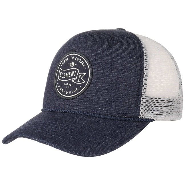 Element Serial Trucker Cap Truckercap Mesh Mesh...