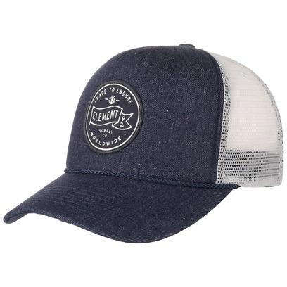 Element Serial Trucker Cap Truckercap Mesh Meshcap Basecap Baseballcap Kappe Curved Brim Snapback - Bild 1