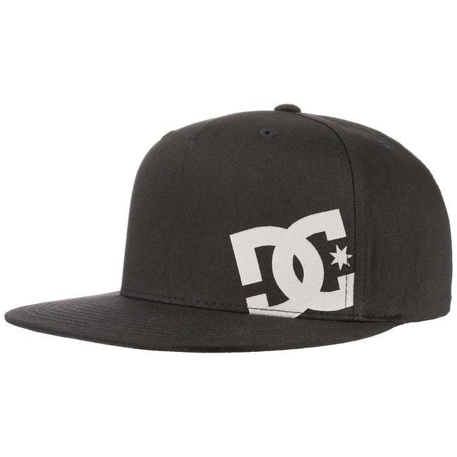 DC Shoes Co Heard Ya 2 Snapback Cap Basecap Baseballcap Kappe Käppi Flat Brim Flatbrim