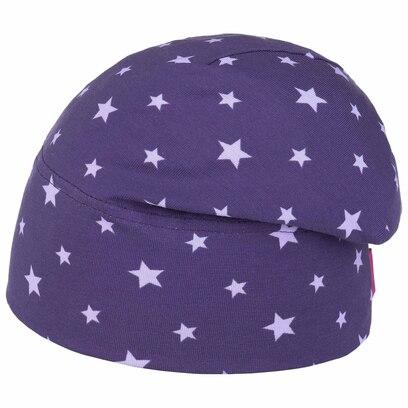Maximo Twotone Jersey Stars Beanie Kindermütze Mütze Wintermütze Strickmütze - Bild 1