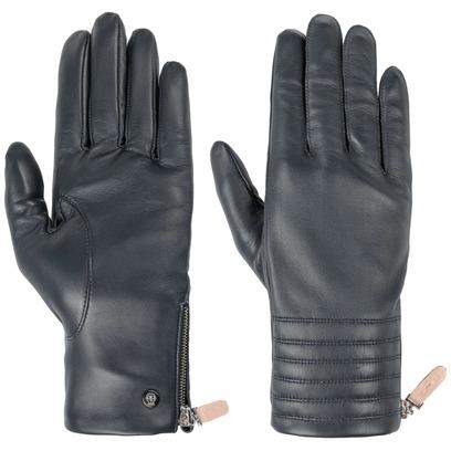 Roeckl Wrist Zip Lederhandschuhe Handschuhe Fingerhandschuhe Damenhandschuhe - Bild 1