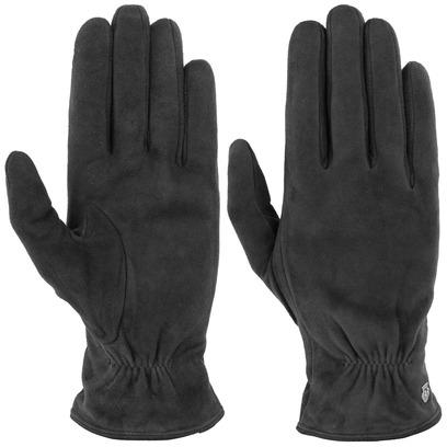 Roeckl Classic Veloursleder Handschuhe Damenhandschuhe Fingerhandschuhe Lederhandschuhe - Bild 1