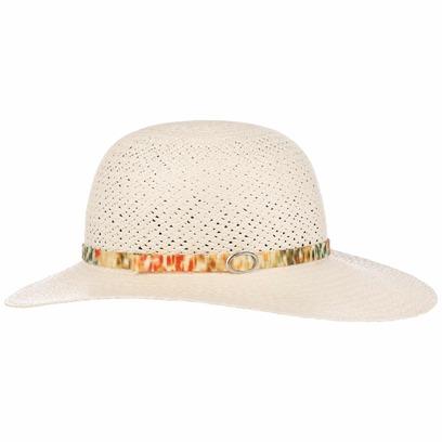 Lierys Coloured Trim Panamahut Damenhut Sommerhut Sonnenhut Strohhut Panamastrohhut Schlapphut - Bild 1
