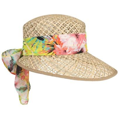Lipodo Carina Damen Strohcap Damencap Sommercap Sonnencap Sonnenvisor Strandcap - Bild 1