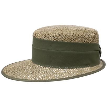 Lipodo Breezy Strohcap Damencap Strandcap Sonnencap Sonnenvisor Visor - Bild 1