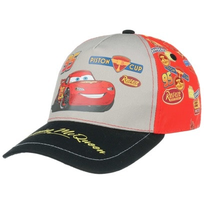 Cars Lightning McQueen Kindercap Cap Basecap Baseballcap Strapback Baumwollcap