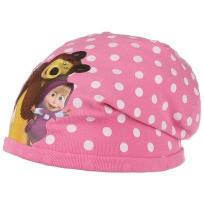 Mascha und der Bär Girls Beanie Kindermütze Mädchenmütze Baumwollmütze Mütze - Bild 1