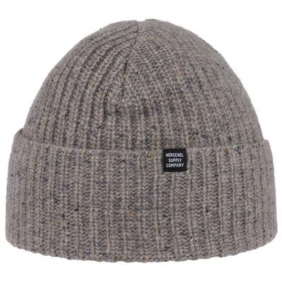 Herschel Speckled Beanie Wintermütze Mütze Umschlagmütze Strickmütze - Bild 1