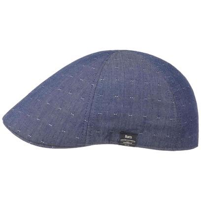 Barts Biduri Dots Denim Flatcap Baumwollcap Schirmmütze Schiebermütze Sommercap - Bild 1