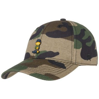 Cayler & Sons Garfield Curved Cap Baseballcap Basecap Strapback Baumwollcap - Bild 1