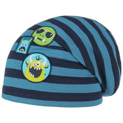 Döll Jersey Monster Stripes Kindermütze Baumwollmütze Baumwollbeanie Sommermütze Mütze Kinderbeanie - Bild 1