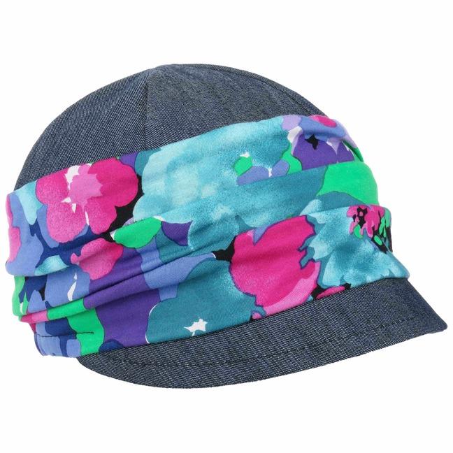 Lierys Flower Stoffcap Schirmmütze Damencap Sommercap Sommermütze Damenmütze