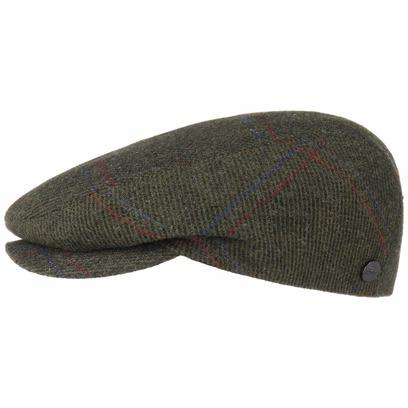 Lierys Flatcap mit Karomuster Schirmmütze Schiebermütze Wollcap Wintercap - Bild 1