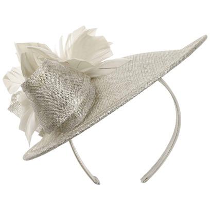 Lierys Silver Miranda Fascinator Kopfschmuck Hochzeitshut Anlasshut Damenhut - Bild 1