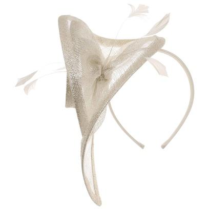 Lierys Silver Spiralia Fascinator Kopfschmuck Hochzeitshut Anlasshut Damenhut - Bild 1