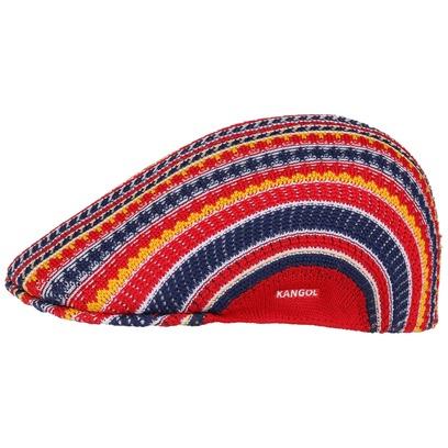 Kangol Mosaic 507 Flatcap Schirmmütze Schiebermütze Sommercap Cap Kappe Mütze