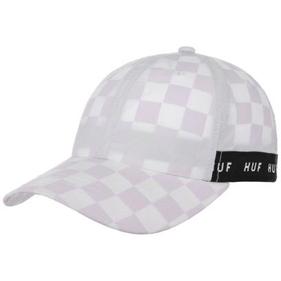 HUF Blackout Curved Strapback Cap Basecap Baseballcap Kappe Karocap