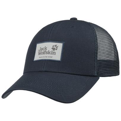 Jack Wolfskin Heritage Trucker Cap Basecap Baseballcap Meshcap Trucker Curved Brim Kappe Käppi