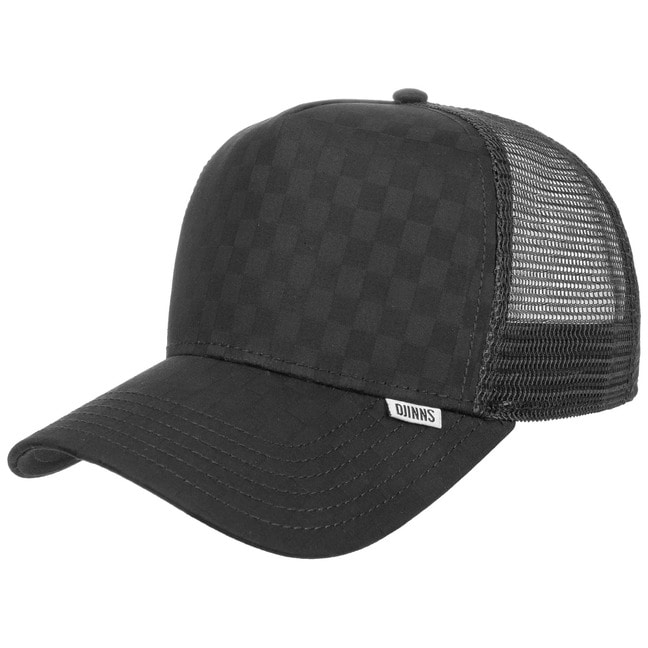 Trucker Cap HFT Tie Check by Djinns
